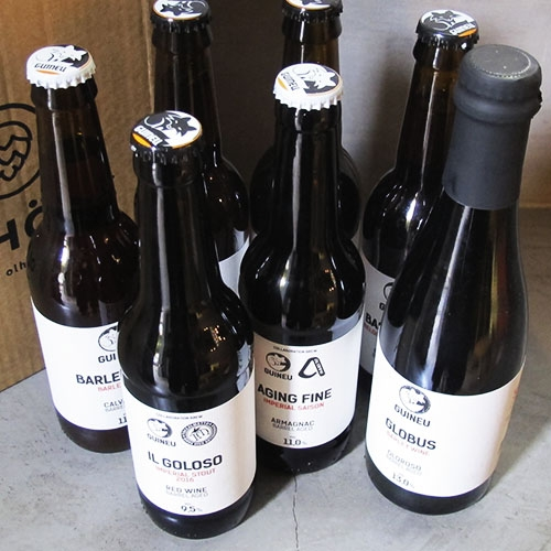 Pack Cervezas Guineu en Barrica