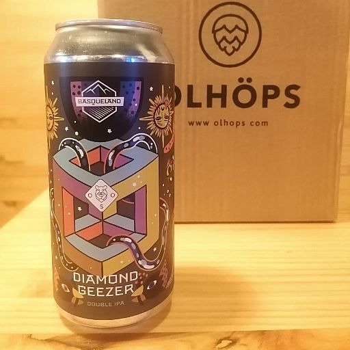 Diamond Geezer | Imperial IPA | Basqueland Brewing